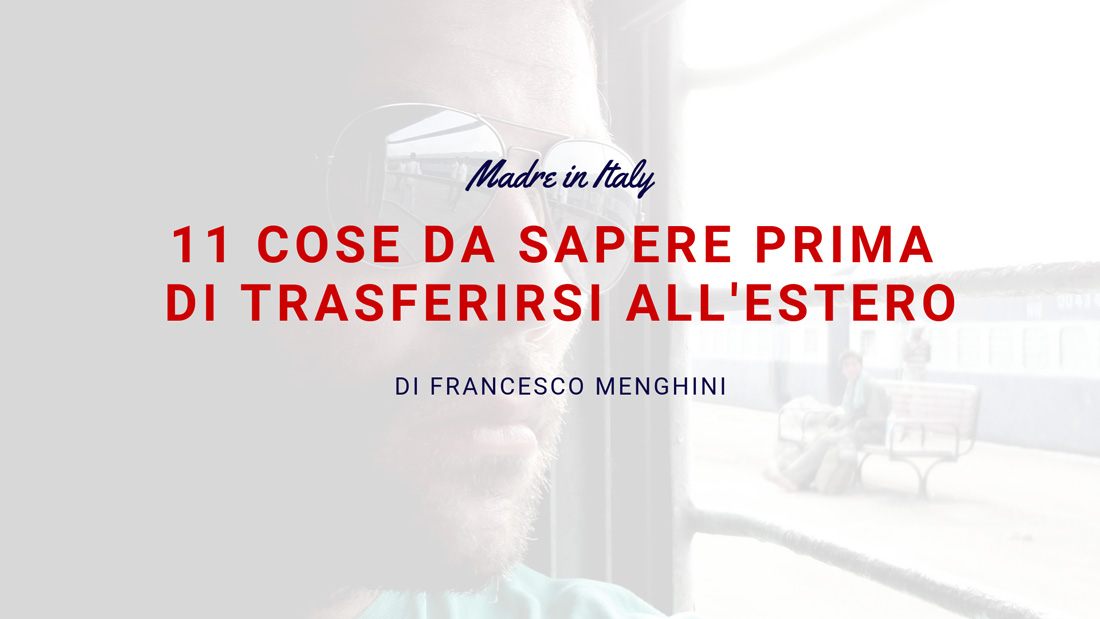 Cose da sapere 001